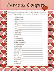 Bridal Shower Trivia Questions Gallery