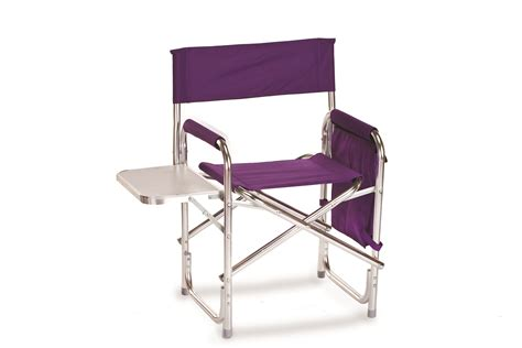 picnic plus directors sport chair with folding side table