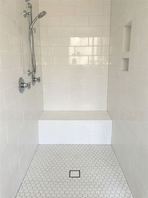 best 25 white tile shower ideas on white