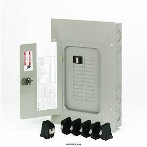 Square D Qo 200 Amp Outdoor Circuit Breaker Enclosure