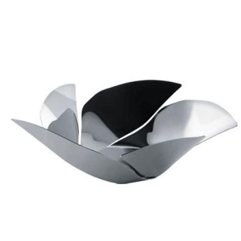 Alessi Twist Again Steel Fruit Bowl   stainless steel