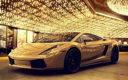 Lamborghini Gold Cars Lambo Golden Wallpapers Murcielago