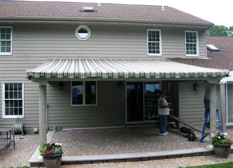 canvas patio cover traditional patio  york  howard quality window