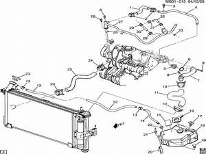Buick Rendezvous Heater Hose Diagram