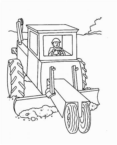 Coloring Construction Pages Printable Zone Page4 Vehicle