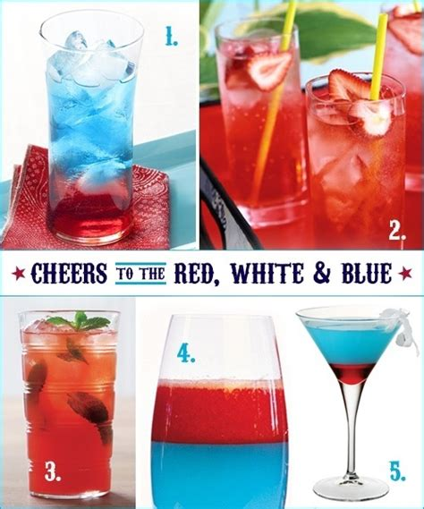 july 4 cocktails cocktail recipes 4th of july 4th of july fourth of july pinterest