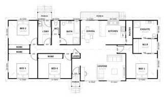 simple 4 bedroom house plans gallery for gt simple house plan with 4 bedrooms