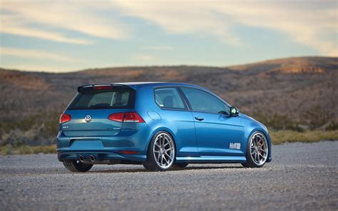 Volkswagen Golf R Tuning by 2015 H And R Springs Volkswagen Golf 7 Static 2 Vw
