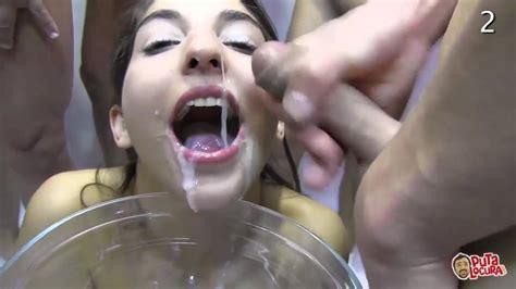 Puta Locura Amateur Teen Latina Goes Full Bukkake Porn 34