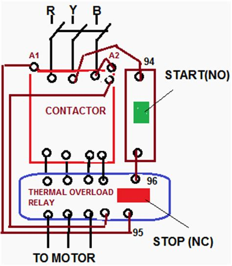 how to wire a compressor with contactor