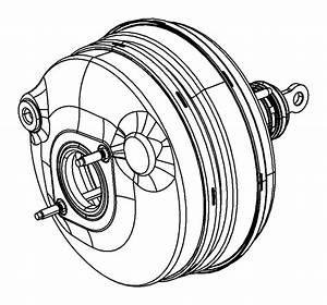 Dodge Challenger Booster  Power Brake   3 0l V6 Turbo Diesel Engine