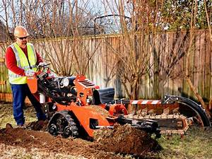 Ditchwitch Rt24 6 U0026quot  X 36 U0026quot  Track Trencher