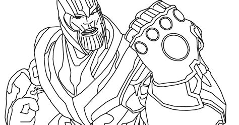 thanos thanos coloring page  coloring pages