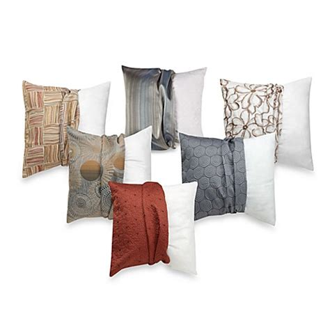 pillows bed bath and beyond make your own pillow square throw pillow insert and cover