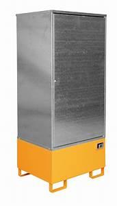 Schrank 100 X 200 : gefahrstoff schrank gs 1 f r 1 x 200 l fass g nstig bestellen lagertechnik profishop ~ Bigdaddyawards.com Haus und Dekorationen