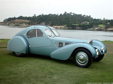 1936 Bugatti Type 57sc Atlantic Information