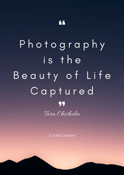 inspirational quotes  photographers    comfort