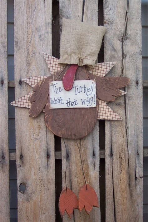 items similar  sneaky turkey wood craft pattern  fall