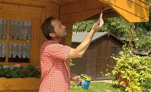 Lasiertes Holz überstreichen : holz streichen ~ Lizthompson.info Haus und Dekorationen