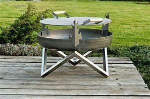 Feuerstelle Für Garten : grill aufsatz grundsolide f r feuerschale feuerkorb in zwei gr en ~ Markanthonyermac.com Haus und Dekorationen