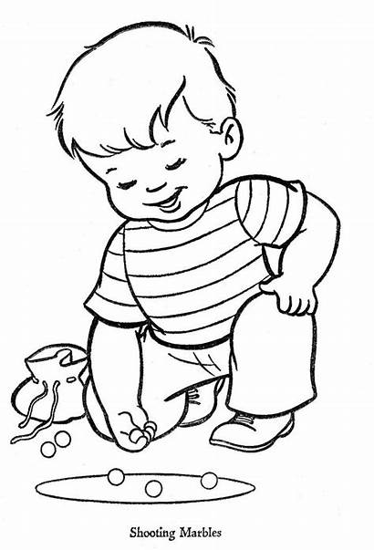 Coloring Pages Marbles Pg Books Flyer Embroidery