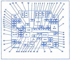 Chevrolet S10 Regular Cab 1999 Fuse Box  Block Circuit Breaker Diagram  U00bb Carfusebox