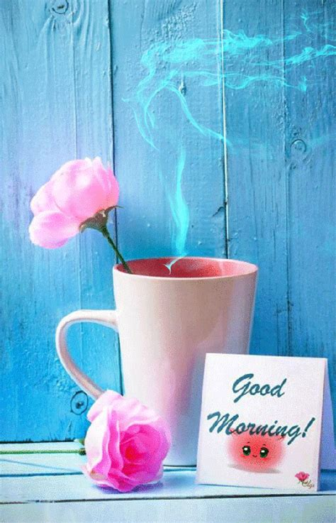 Coffee can be replaced, same as the sheets on the bed but nothing can replace your scent that lingers in the air, your love that envelopes my heart. photo 0_17bf11_87bd286b_XL_zpsxe7ncmbp.gif | Good morning animation, Morning quotes images, Good ...