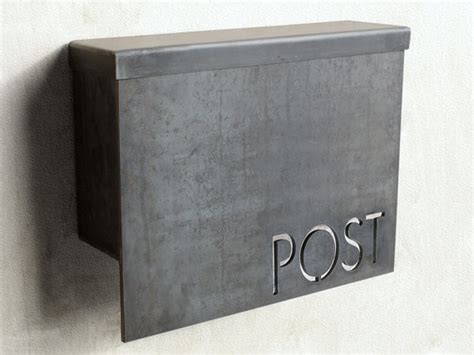 standard modern mailbox by austin outdoor studio contemporary mailboxes by etsy