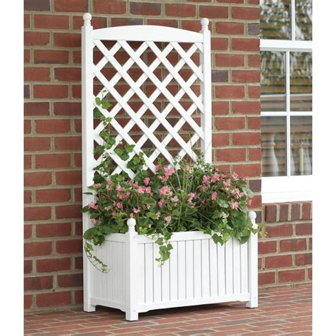 Shop Garden Trellis by To It 4 5 Foot Rectangle Solid Wood