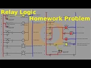 Relay Logic Part 2  Fire Alarm Problem