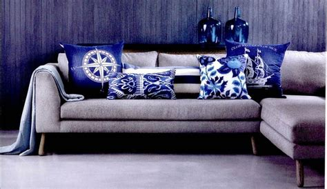 grey sofa cushion ideas grey couch with blue pillows home ideas decor