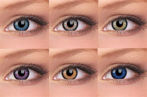 eye contact color e o contact lenses contact lens