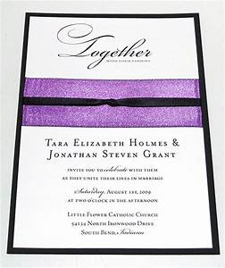 how to ribbon embellished wedding invitations With how to make wedding invitations with ribbon