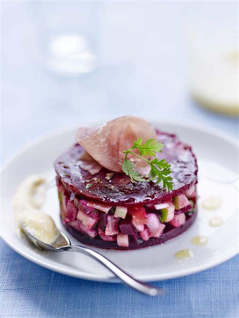 cuisine aoste tartare pomme betterave au jambon cru aoste 25 sel