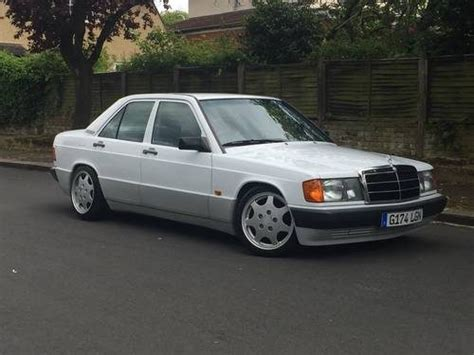 Tags until 7/15 this car is a great example for german engineering. For Sale - 1989 MERCEDES 190E AUTOMATIC WITH PORSCHE ALLOYS | Classic Cars HQ.