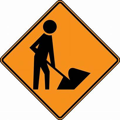 Safety Sign Clipart Clip Clipartix Construction Worker