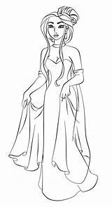 Anastasia Lineart Deviantart Coloring Disney Paola Tosca Pages Poca Princess Drawings Draw Step Characters Pocahontas Crossover Classic Ice Tales Fairy sketch template