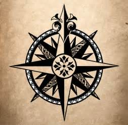 Compass Rose Tattoo Designs