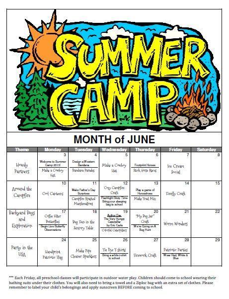 preschool summer themes preschool summer camp weekly themes so child like 963
