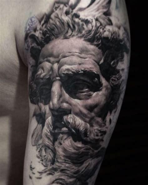 poseidon tattoos images  pinterest poseidon
