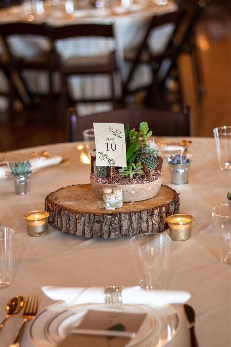natural wedding centerpiece succulent wedding