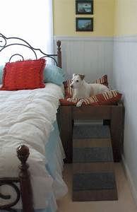 wood raised elevated dog bed furniture put your pet next to With dog bedroom furniture