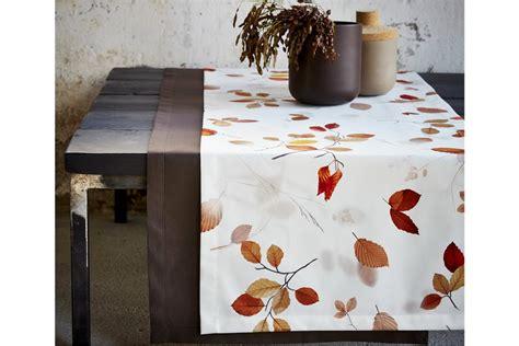 Tischdecke Herbst by S Table Fall Druck Herbstbl 228 Tter Auf Satin