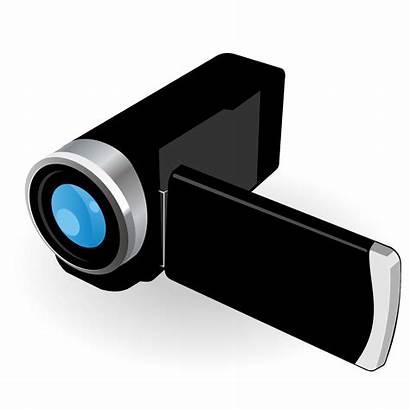 Camera Vector Digital Illustration Clipart Flat Simplistic