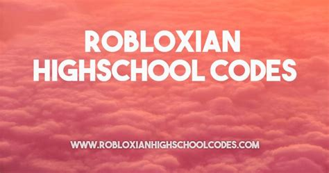 roblox high school clothes codes list archives robloxian
