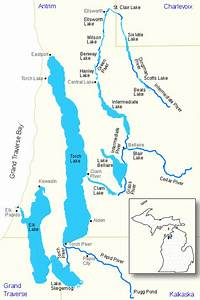 File Elk River Chain Of Lakes Map Us Mi Svg
