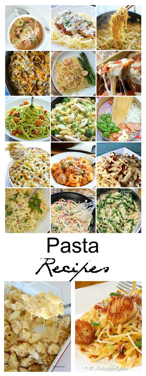 pasta dishes for dinner pasta recipes the idea room