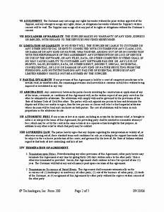 technical support service agreement free download With technical support agreement template