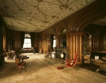 library  penrhyn castle penrhyn castle  national