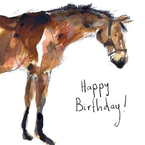horse happy birthday card  catherine rayner